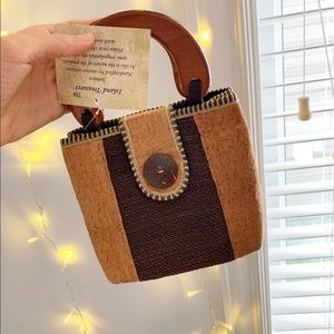 Handcrafted small bag made in Jamacia